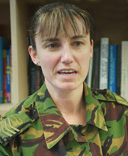 S/Sgt Tina Grant, NZDF Families of the Fallen